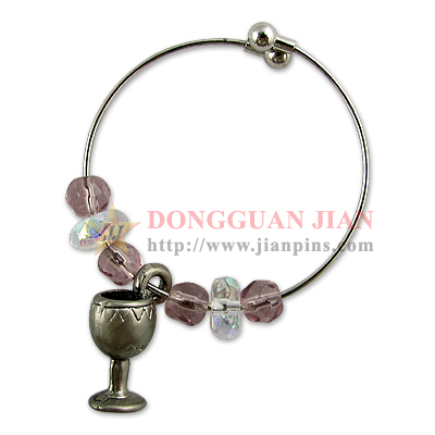 wine glass charms factory