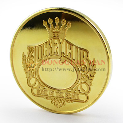 Mirror-like Fake Gold Coin