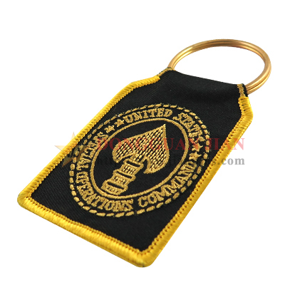 wholesale embroidered keychain