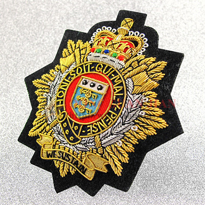 personalised bullion badges