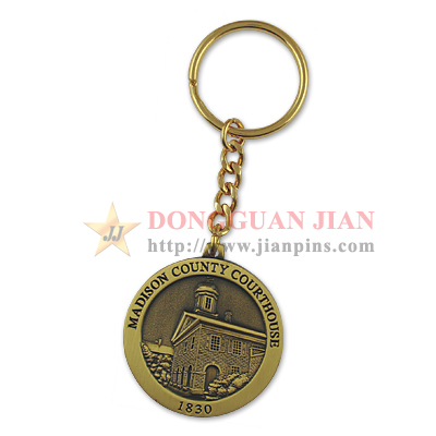 Antique Plating Keychains