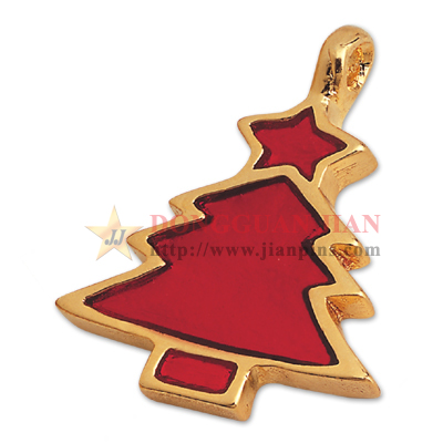 Christmas Tree Badge