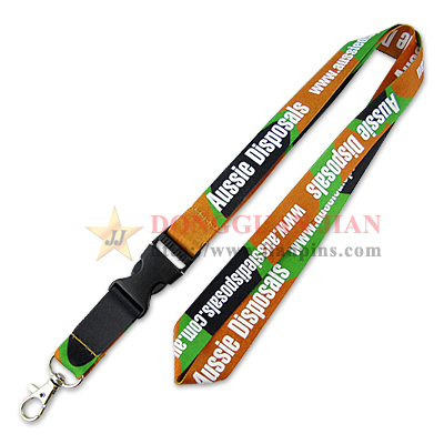 Elegant Dye Sublimation Lanyards